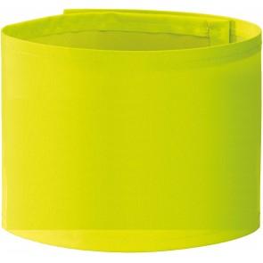 Brassard haute visibilité large à imprimer Yoko jaune