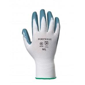 Gant Flexo Grip nylon enduit Nitrile Portwest  Gris/Blanc