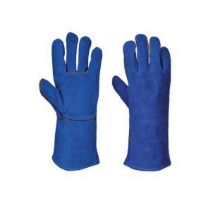 Gants de protection soudeur Portwest Cuir Bovin A510 bleu