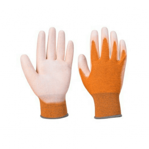 Gants antistatiques Portwest paume enduit PU A199 orange