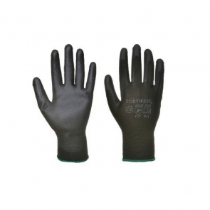 Gants nylon Portwest enduits PU A120 noir
