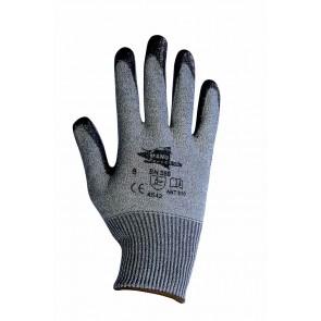 Gants anti-coupure en nitrile noir