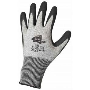 Gants anti-coupure en latex noir ANT508 Manusweet