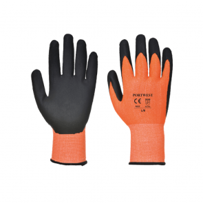 Gants anti-coupures Portwest Vis-Tex Coupure 5 PU A625 Orange