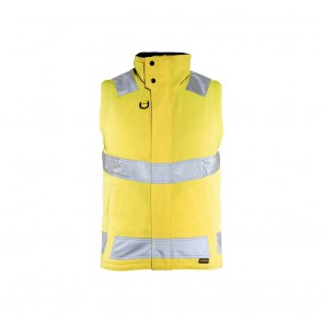 Gilet sans manches haute visibilité hydrofuge Blaklader jaune