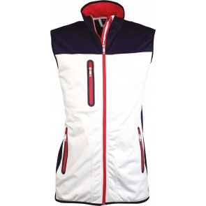 Gilet sans manches softshell femme Kariban Tricolore