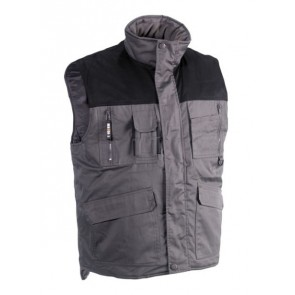 Gilet sans manches multipoches Donar Herock - gris