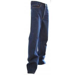 Jeans extensible 5 poches western Memphis LMA bleu