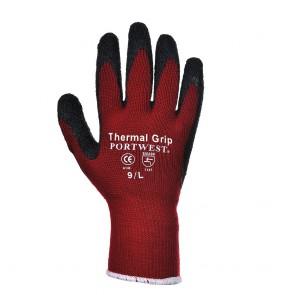 Gants thermique enduit latex Portwest rouge