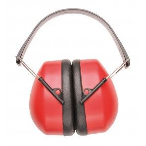Casque anti-bruit Portwest rouge