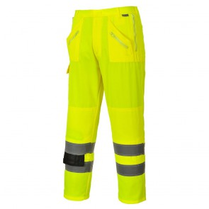 Pantalon haute visibilité Portwest Action poches genouillères