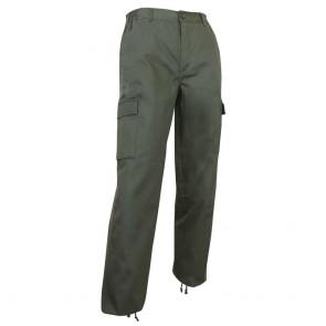Pantalon de travail multi poches LMA Nebraska vert Kaki