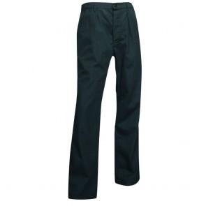 Pantalon de cuisinier classique noir Marmiton LMA
