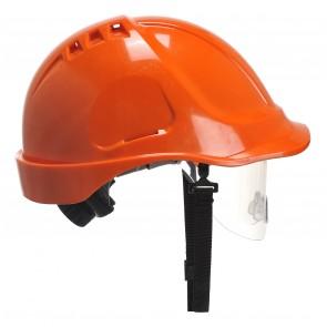 Casque de chantier Endurance Vision Portwest orange