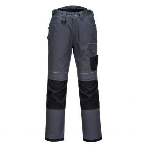 Pantalon de travail Portwest Urban Work Gris zoom/Noir face