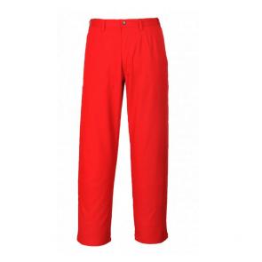 Pantalon de travail soudeur Bizweld Portwest rouge