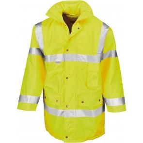 Parka de travail 3/4 sécurité haute visibilité Result - jaune fluo