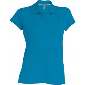 Polo de travail femme Kariban 100% coton Bleu