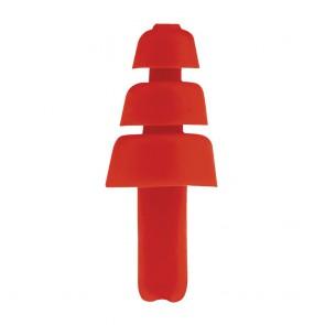 Bouchon Antibruit TPE Réutilisable 50 paires Portwest rouge