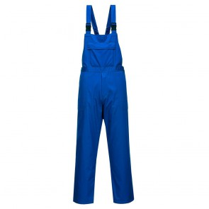 Cotte à bretelles résistant aux produits chimiques Portwest Workwear face