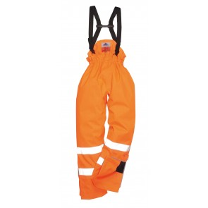 Pantalon haute visibilité Multirisque doublé Portwest Bizflame antistatique