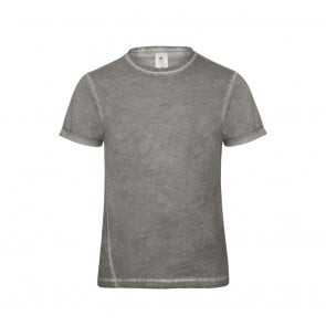 Tee-shirt denim homme Plug In B&C Pro