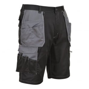 Short de travail multi-poche Portwest Granit