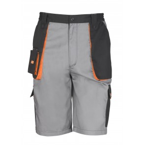 Short de travail Lite Work-Guard RESULT-gris