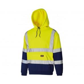 Sweat shirt à capuche haute visibilité Dickies Bicolore