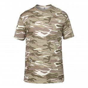 Tee-shirt camouflage Anvil