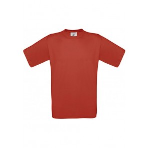Tee-shirt col rond Exact B&C Pro-rouge