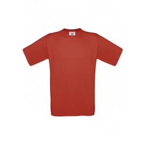 Tee-shirt col rond Exact B&C Pro-rouge