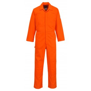 Combinaison de travail Portwest bizweld moleskin orange