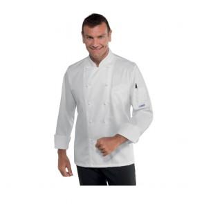 Veste de cuisine Isacco Alabama Slim Coton Satin