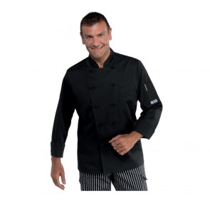 Veste de cuisine Isacco Alabama Slim Noir