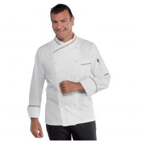 Veste de cuisine Isacco Panama Slim liseré Italien