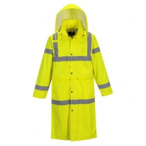 Manteau de pluie haute visibilité Portwest face