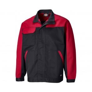 Veste de travail Dickies Everyday noir rouge