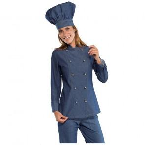 Veste de cuisine femme Isacco Jeans Lady Chef