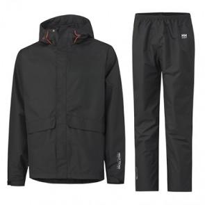 Pack pantalon et veste de pluie Waterloo Helly Hansen - Noir