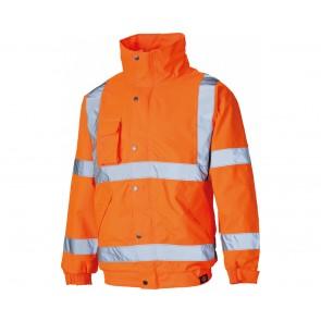 Blouson de travail Haute Visibilité Dickies GO/RT Orange fluo