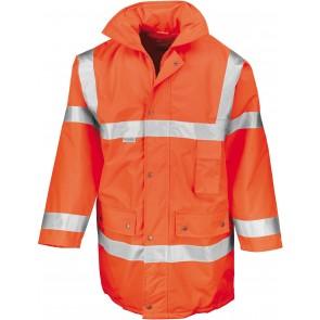 Parka de travail 3/4 sécurité haute-visibilité Result