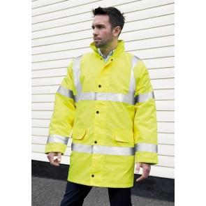 Manteau de travail hiver haute-visibilité EN471 Result