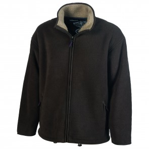 Blouson polaire Everest Pen Duick - Marron
