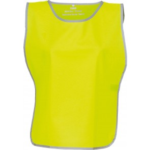 Chasuble à bordure réfléchissante Yoko jaune