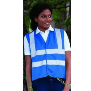 Gilet de sécurité Haute Visibilité RTY Enhanced Visibility Vest bleu foncé