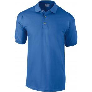 Polo de travail manches courtes Gildan ultra cotton bleu royal