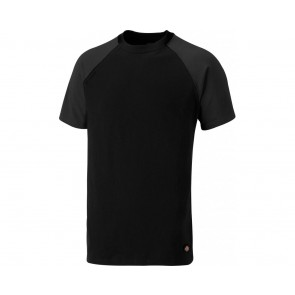 T-shirt de travail Dickies Two tone noir gris