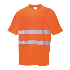 Tee shirt Haute Visibilité Portwest Confort Coton orange