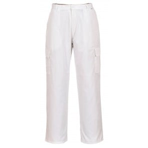 Pantalon Antistatique ESD Portwest blanc